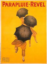 Parapluie Revel, 1922 by Cappiello Vintage Advertising Canvas Print 30x40