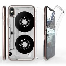 For iPhone X Full Coverage Front Back Protector Case Casette
