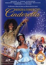 Cinderella (Brandy Whitney Houston Whoopi Goldberg Disney) Region 1 New