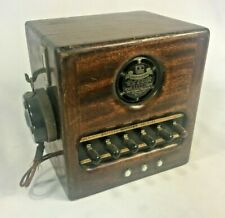 Dictograph System Sub-Station Intercom Microphone Interphone Telephony Vintage