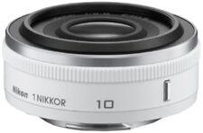 Nikon 1 Nikkor 10mm F/2.8 Lens - White
