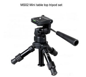 BEXIN MS02 Mini Table top Tripod set Travel Selfie Compact for DSLR Camera