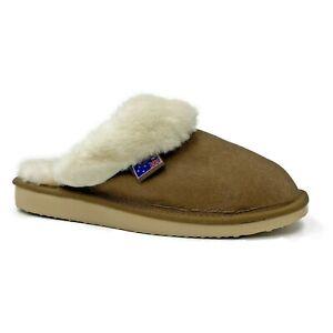 Traditional Womens Sheepskin Scuffs Slippers Ugg - Australian Sheepskin