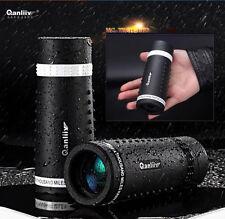 UK QANLIIY 10X30 HD ZOOM LENS BK4 Night Vision Travelling Monoculars Telescope