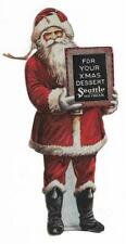 Paper Santa Ornament Hang Me On Your Xmas Tree Seattle Ice Cream Co
