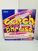 Vintage Catch Phrase Board Game ITV TV Show Britannia Games 2005 Mr Chips