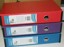 Foolscap Lock Spring Box Files 70mm Document A4