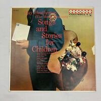 Songs And Stories For Children By Ray Heatherton LP Vinyl Record