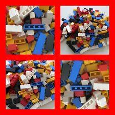 Lego 200x Basic Steine Bausteine Grundsteine 1x2 1x3 1x4 hoch Rot Blau Gelb Weiß