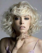 2020 New Sexy Lovely Medium Wavy Wig Hair With Soft Fringe