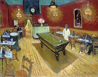 "Le cafe de nuit ""The Night Cafe"" Painting by Vincent van Gogh Art Reproduction"