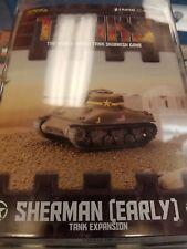 TANKS American Sherman Early Tank Expansion Galeforce Nine War Board Game New!