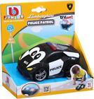 Burago Black Police Car Lamburgini Lights & Sounds Baby Toy +12 months
