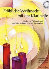 Klarinette Noten : Fröhliche Weihnacht mit der Klarinette mit CD leicht - mittel