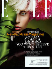 Elle 10/13,Lady Gaga,Subscription Cover,October 2013,NEW