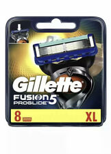 Gillette Fusion 5 Proglide XL Blades Pack Of 8 Cartridges Brand New Genuine