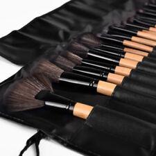 Schwarz Profi 24tlg Make-up Pinsel-Set Kosmetik Brush Schminkpinsel Lidschatten