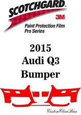 3M Scotchgard Paint Protection Film Pro Series Clear Bra Bumper Kit 2015 Audi A3