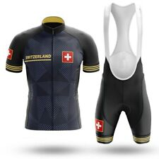 Switzerland Cycling jersey Set Summer Bicycle Clothing Maillot Ropa Ciclismo MTB
