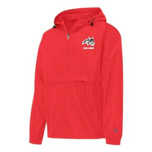 Champion NCAA Stony Brook University Seawolves Red Windbreaker Jacket