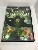 The Matrix Path of Neo Playstation 2 PS2 Video Game Complete