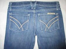 William Rast Jeans Daisy Super Flare Low Distressed Sz 24 Runs Big