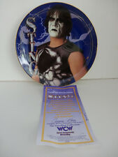 "World Champion Wrestling ""Sting"" Plate.Vintage 1998 Only one on Ebay"