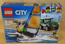 LEGO CITY n° 60149 PICK UP 4x4 CON CATAMARANO  5-12 anni  cod.17628