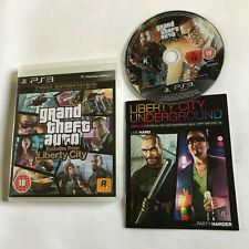 Grand Theft Auto Episodios De Liberty City/CIB GTA/Sony Playstation 3 PS3