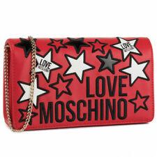 Moda Donna Borsa Love Moschino in ecopelle fantasia JC4092PP1ALM0500 Rosso