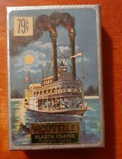 Vintage Nouvelle Pinochle Plastic Coated Playing Cards Brand New in Plastic Wrap