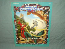 Ad&D 2nd Edition Module - Hhq2 Wizard'S Challenge (Rare *Solo* and Exc+!)