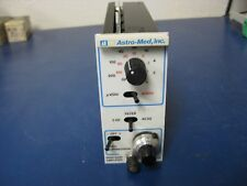 Astro-Med Inc Asc908 Asc 908 High Gain Amplifier module