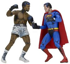 "Superman vs Muhammad Ali - 7"" Scale Action Figure - 2 pack - NECA"