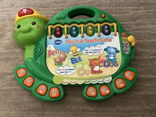 VTech Touch & Teach Turtle Educational Electronic Kids Learning Toy