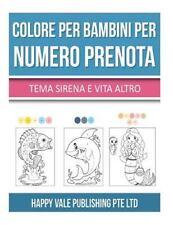 Colore per Bambini per Numero Prenota : Tema Sirena e Vita Altro by Happy...