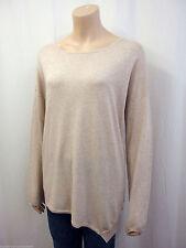 Lange Damen-Pullover & Strickware mit Langarm-Ärmelart aus Baumwollmischung ohne Verschluss