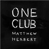 Matthew Herbert - One Club  CD NEW&SEALED