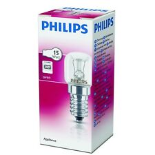 PHILIPS 15w Small Glass Oven Cooker Lamp Bulb Heat Resistant Light 300°C A4119