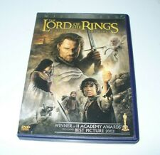 The Lord of the Rings: The Return of the King (Dvd, 2004, 2-Disc Set) Fantasy