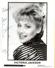 J-VICTORIA JACKSON Autograph Photo- Was on SNL W/COA