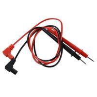 70cm Reemplazo Rojo y Negro Cables de Prueba para Multimetro Digital K6S7
