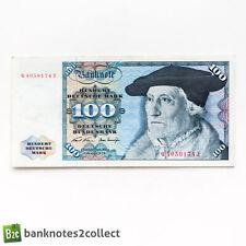 Allemagne: 1 x 100 Mark allemand billet. Daté 02.01.70