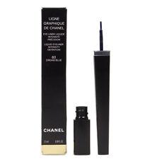 Chanel Ligne GRAPHIQUE DE Chanel Eyeliner Liquido 60 2.5 ml blu dei sogni SCATOLA DANNEGGIATA
