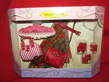 Barbie Doll Shoes And Purse Accessories Millicent Roberts RED HOT Set ***RARE