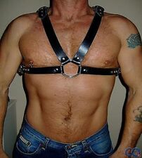 Custom Made-Nera Pelle Italiana Harness