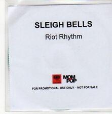 (BY598) Sleigh Bells, Riot Rhythm - DJ CD