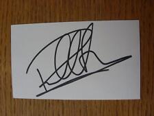 50's-2000's Autographed White Card: Heald, Paul - Wimbledon