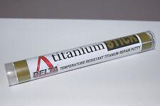 TITANIUM Putty high temperature resistant hot repair Huge 125gm