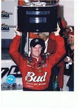 DALE EARNHARDT JR NASCAR DAYTONA 500 WIN 8 X 10 PHOTO